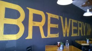 ORO Taproom Wall