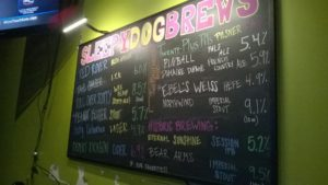 SLEEPY Dog Tap List 3 18
