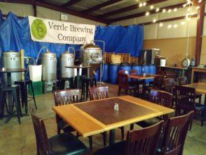 VERDE Brewing Interior