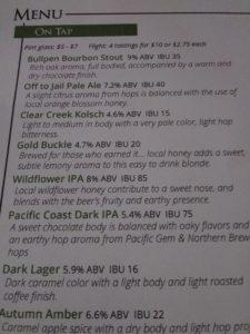 VERDE Beer Menu 9 18