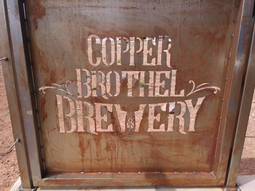 COPPER Brothel Sign Logo